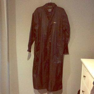 RARE- Ventememes Rain Coat long